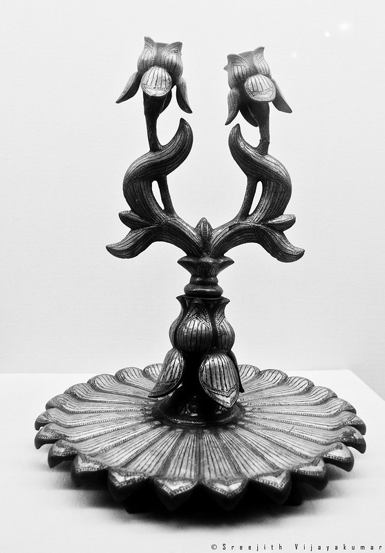 Candle stand, 19 century AD,  National Museum, New Delhi
