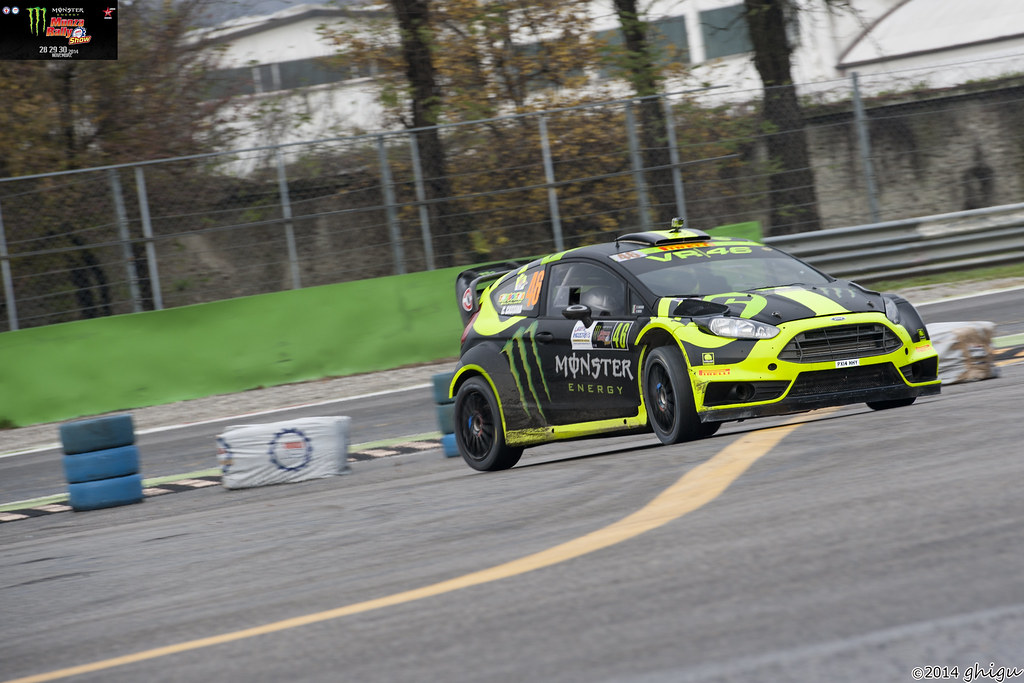 Valentino Rossi Monza Rally Show 2014 | Monza Rally Show ...
