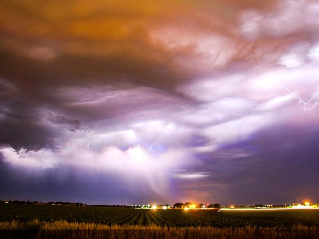 061413 - Another Impressive Nebraska Night Thunderstorm