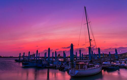 sunset sky canon hsinchu 夕陽 日落 新竹 lr 南寮 6d ef2470mmf4l
