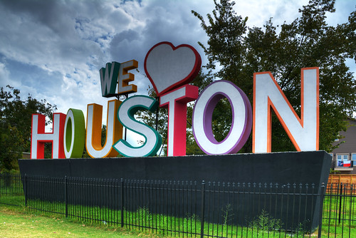 We Love Houston Sign | by Ron Kikuchi