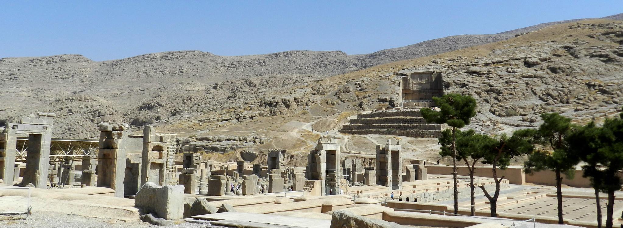 Palacio de las 100 columnas Persépolis Irán