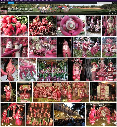 Your radish advent calendar - an album on Flickr @STyDE_GobOax @OaxacaTurismoCd | by planeta