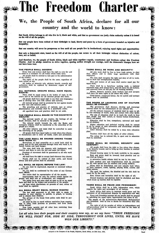 The  'Freedom Charter'