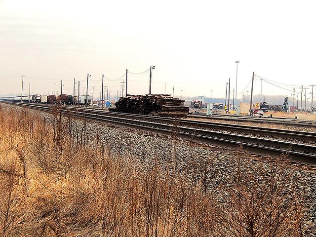NS Elkhart Yard