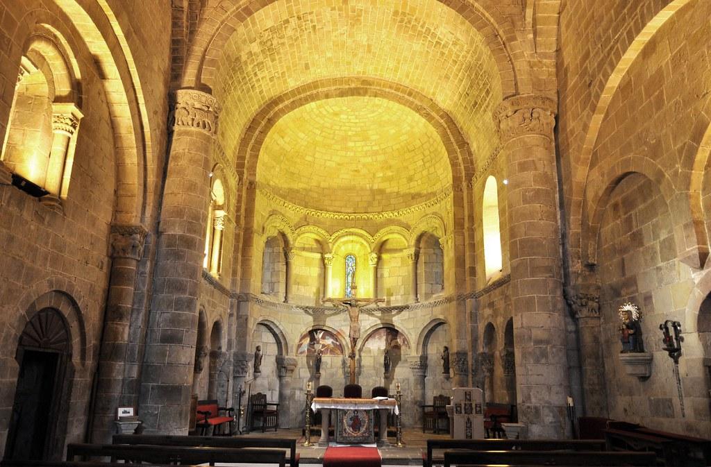 San Martín de Elines (Cantabria). Iglesia de San Martín. I… | Flickr