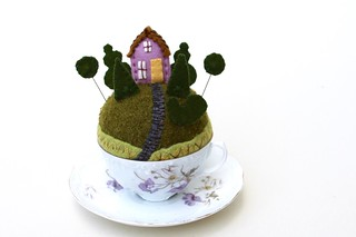 topiary garden pincushion | by Mimi K