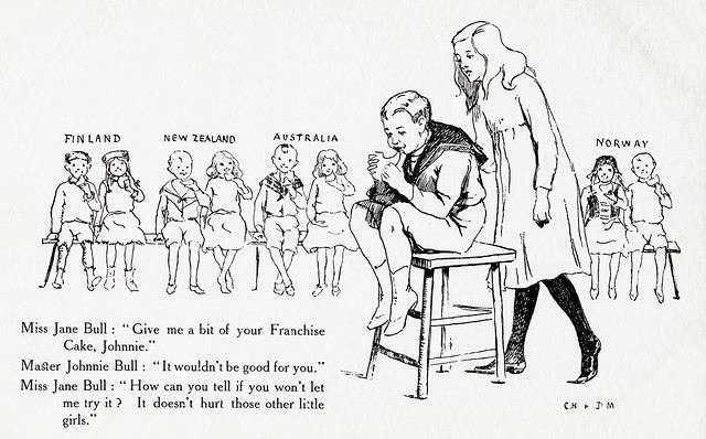Suffrage colouring images