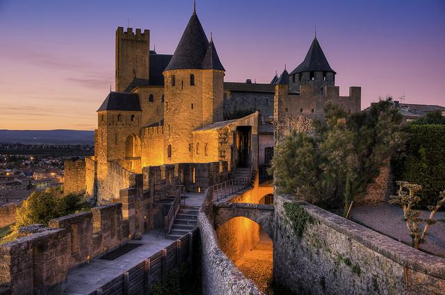 Carcassonne Sunset