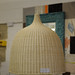 Wicker lamp shade
