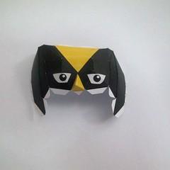 วิธีทำของเล่นโมเดลกระดาษ วูฟเวอรีน (Chibi Wolverine Papercraft Model) 016