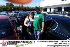Dodge City McKinney Texas Chrysler Jeep Dodge Ram SRT Dallas Dealer Testimonials Customer Reviews -Danny Schwartz