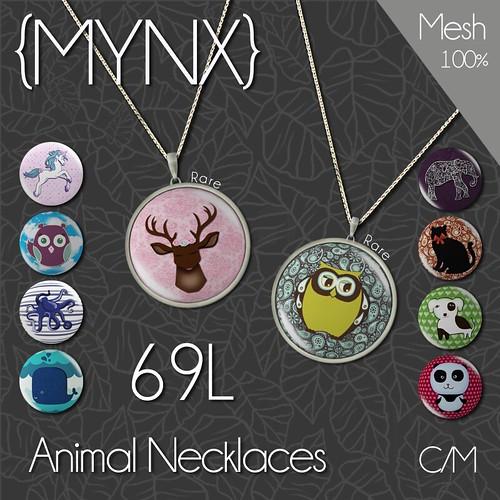 {MYNX}-Animal-Necklace-Gacha