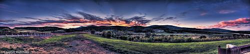 sunset mountains westvirginia hdr appalachain
