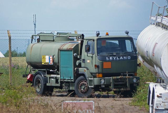 Leyland Refueller at Manston Airport