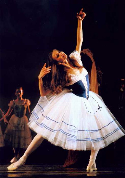 Egle Spokaite in Giselle as Giselle