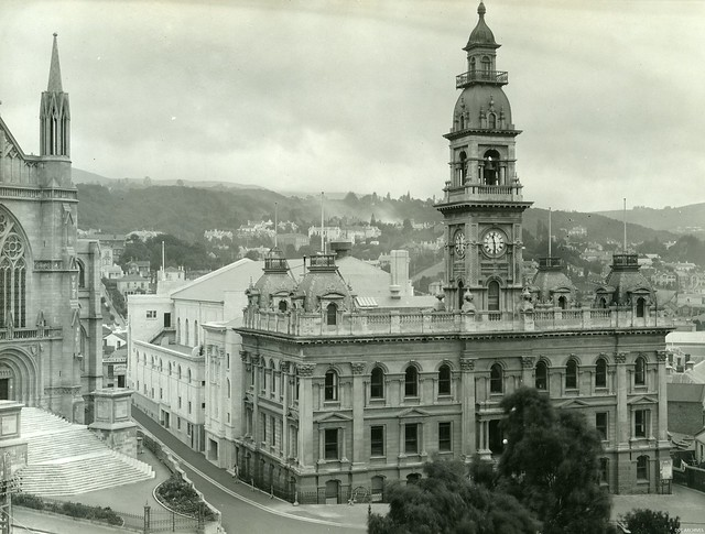 Newly Completed Dunedin Town Hall 1929