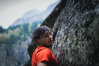 Wet climber