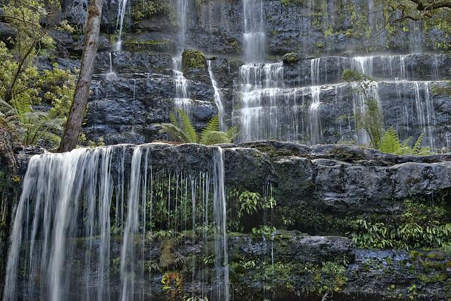 Russell Falls - Mount Field NP