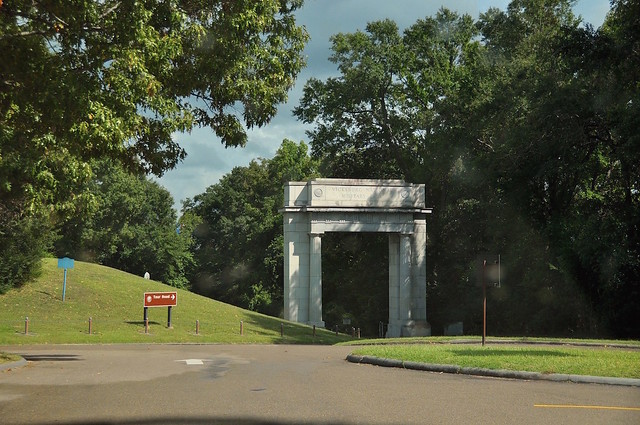 Memorial Arch, the Entrance of Vicksburg National Military Park, MS