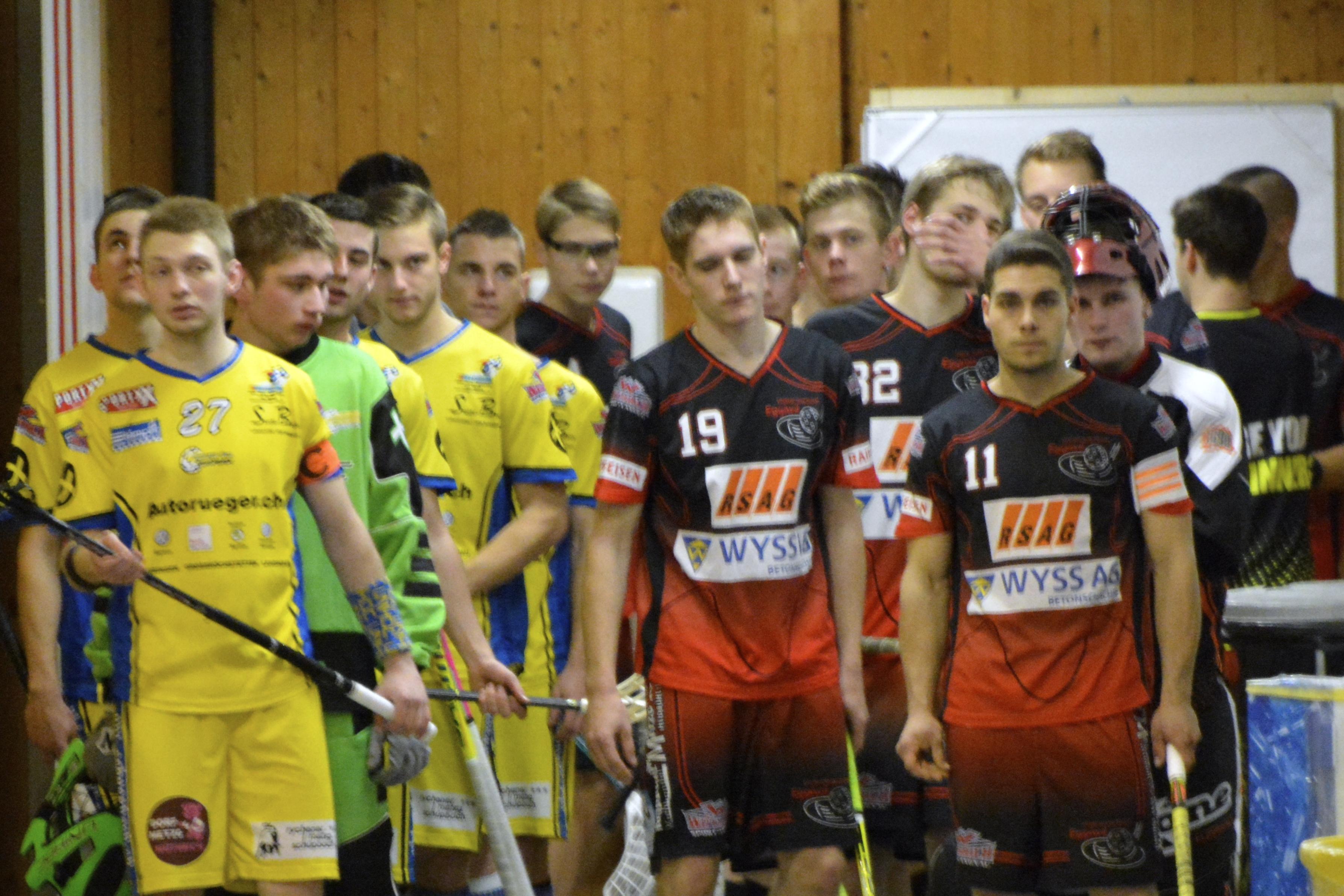 Junioren U21B - UHT Schüpbach Saison 2014/15