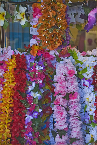 'Leis for Sale' -- Hilo The Big Island (HI) November 2014 | by Ron Cogswell