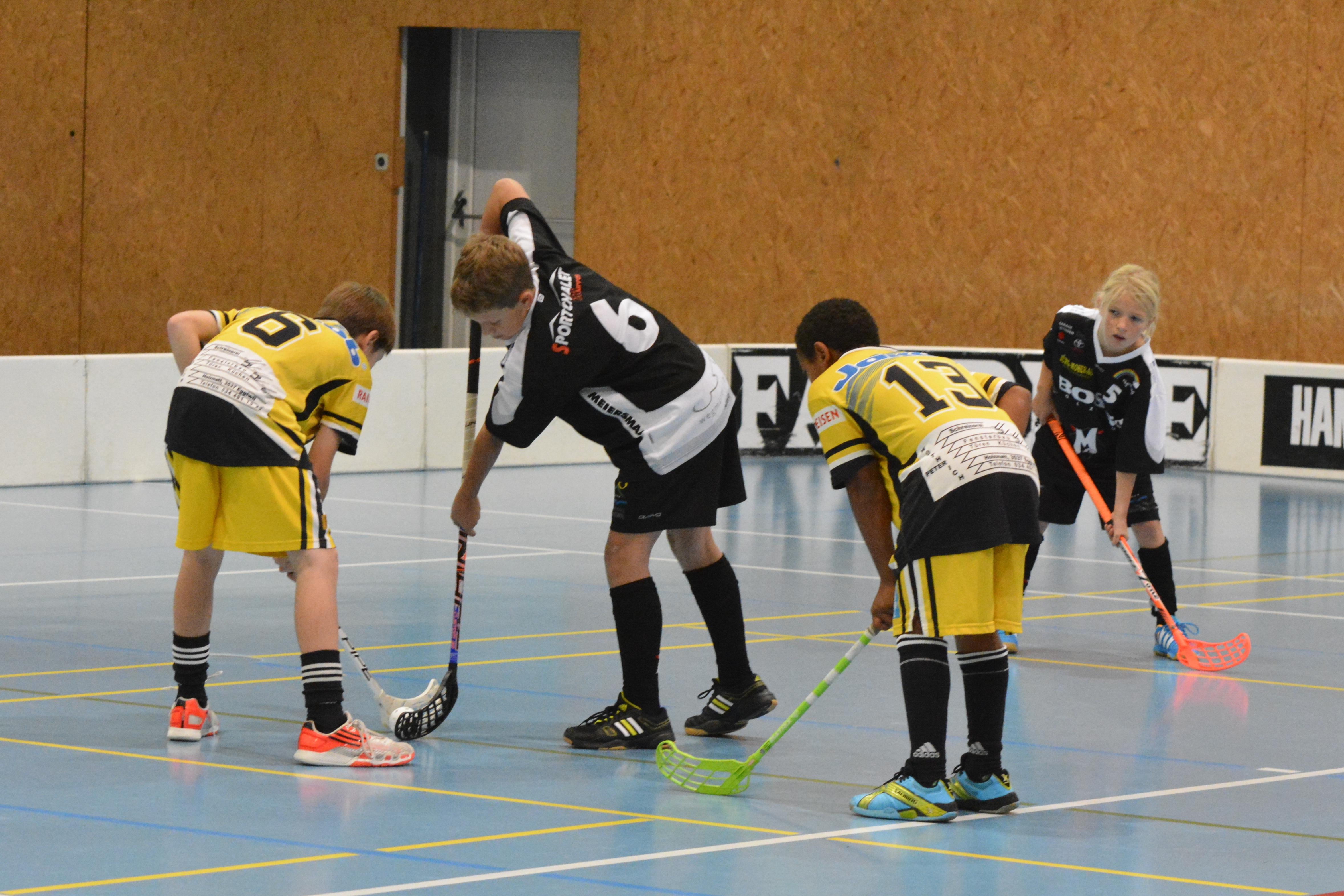 Junioren DII - UHC Meiersmaad-Schwanden I Saison 2014/15