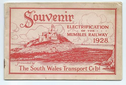 Mumbles Railway souvenir of Electrification 1928   by ian.dinmore