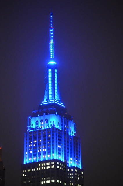 Empire State Building for Human Rights Day