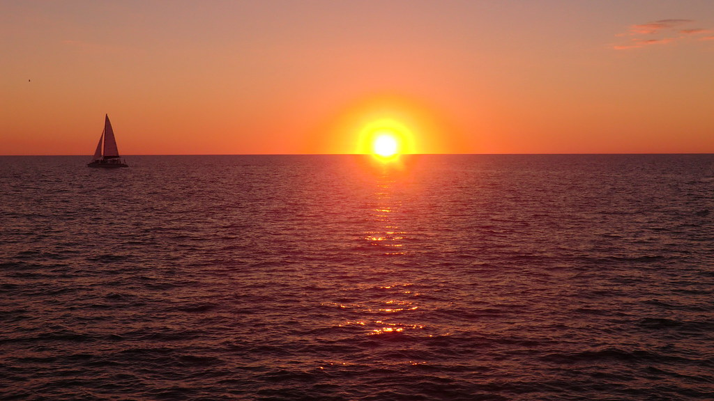 Florida - Naples - ocean sunset