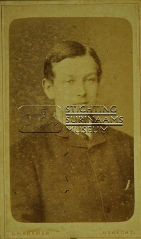 Portret van Theodoor Lens | by Stichting Surinaams Museum