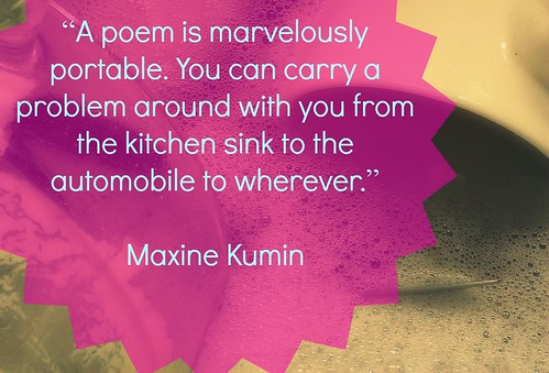 Literary Granny Maxine Kumin on Portable Poetry | by juliejordanscott