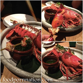 whole grilled  lobster with ponzu &  umami dressing - 2   by Priscilla @ Food Porn Nation