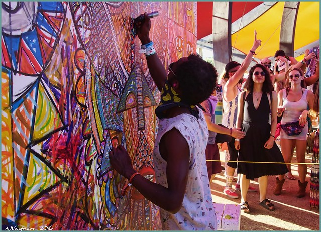 Colorful Art and Artist