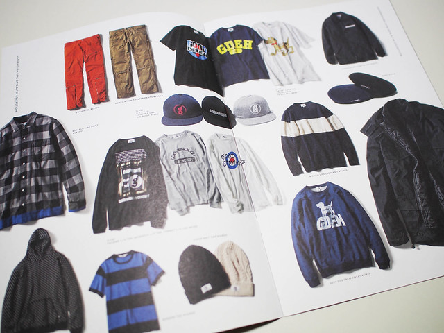 GOODENOUGH 2015AW LOOKBOOK