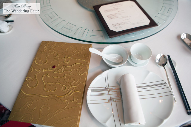 Menu and table setting