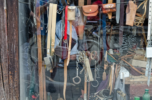 Leathershop Reflections in Ohrid