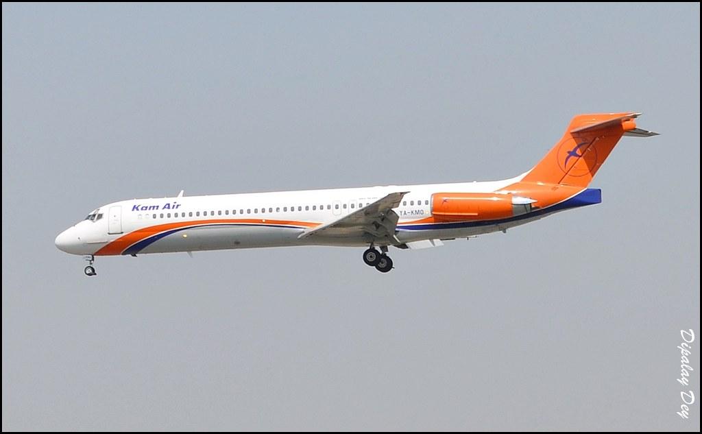 Kam Air McDonnell Douglas MD-87 YA-KMO