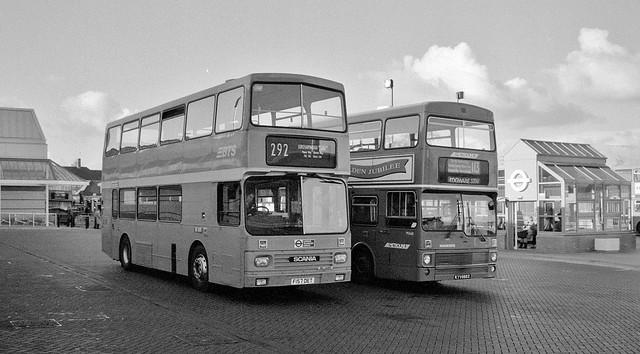 Edgware Bus Station, 1990