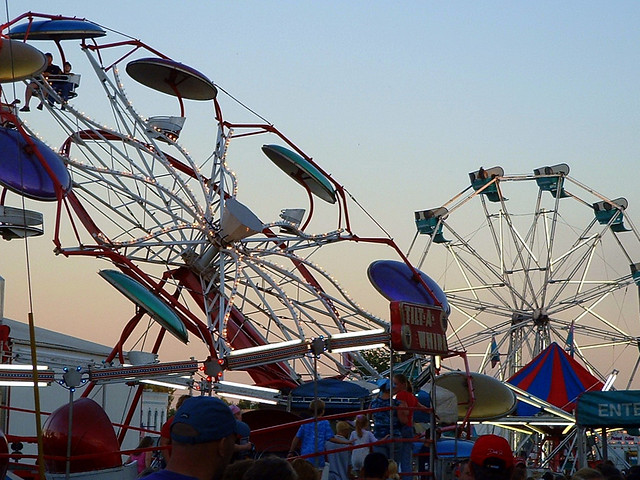 2003 Colby Cheese Days Carnival.