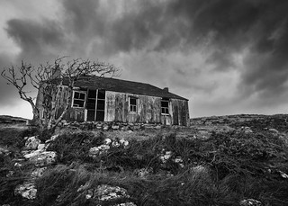 Scalpay Ruin Mono | by Christopher Combe Photography
