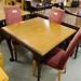 Mahogony extendable table