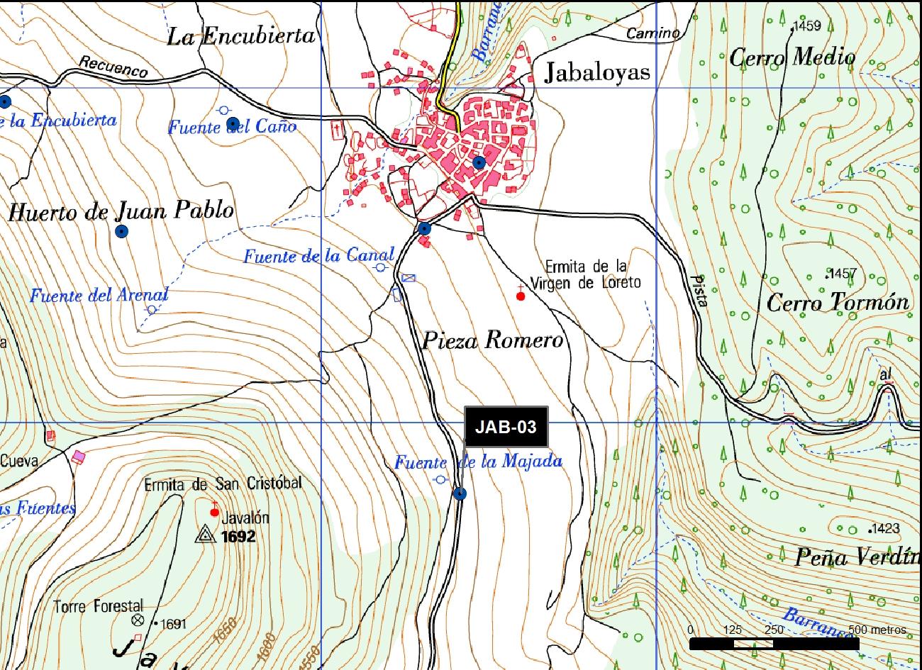 JAB_03_M.V.LOZANO_PORTERA DE LA MAJADA_MAP.TOPO 2