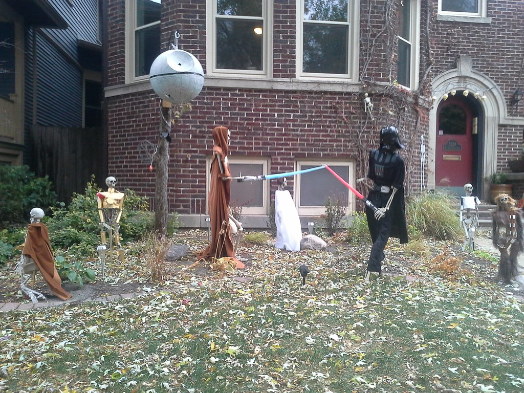 Star Wars Halloween Decoration A Really Great One I First
