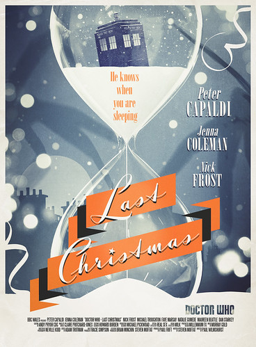 Doctor Who: Last Christmas Retro Poster | by StuartM80