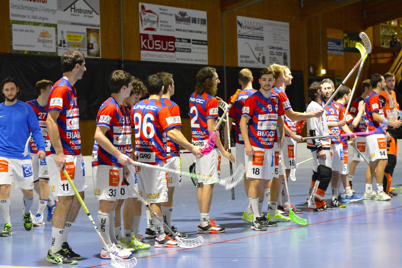 Herren NLB - Ticino Unihockey Saison 2014/15