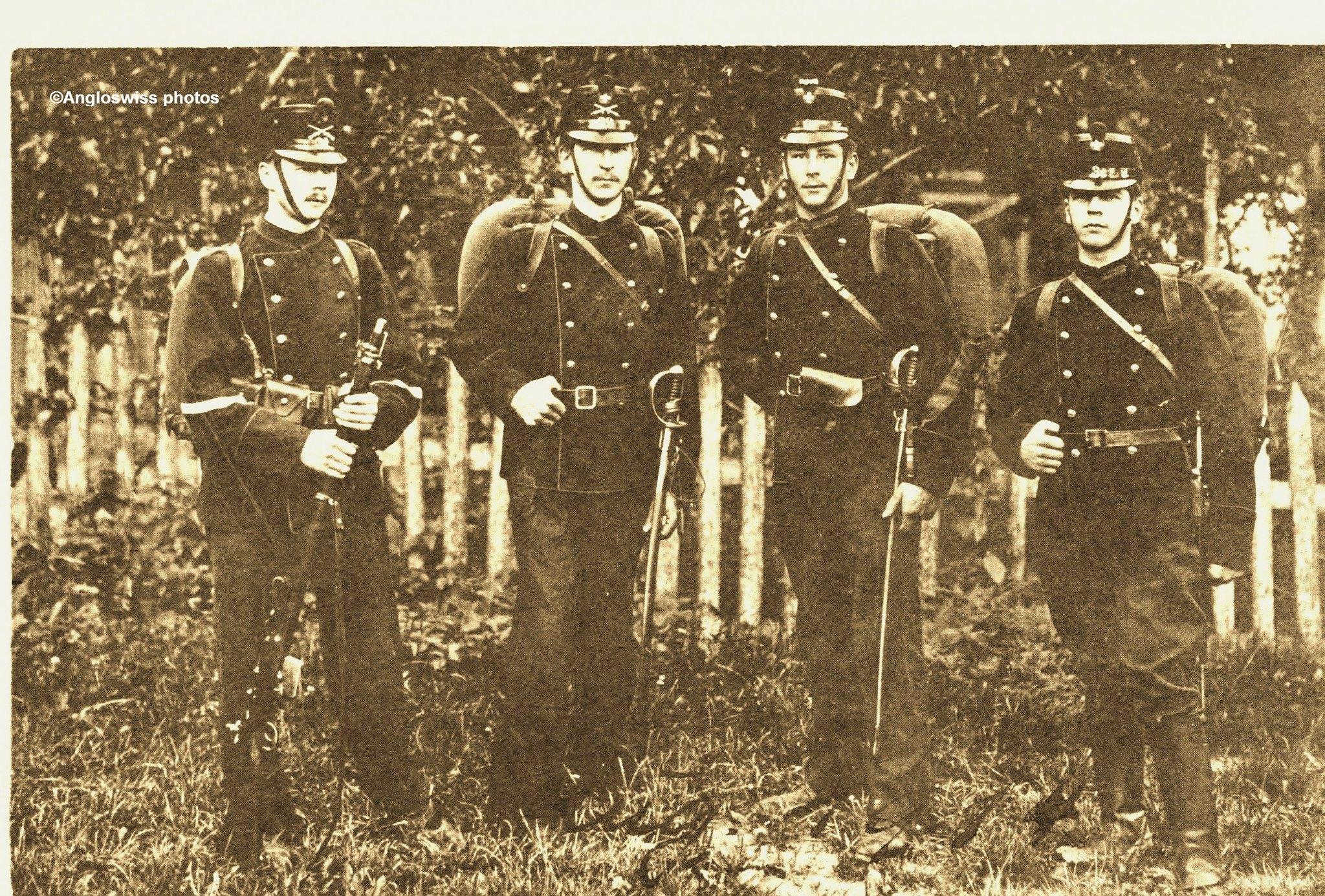 Fritz, Rudolf, Hans, Oscar Gerber