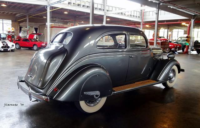 1936 Nash Ambassador Victoria Coupe