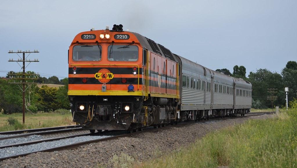 24.11.2014 - Breadalbane - 2210 on train SK 82 AK cars by Jeff