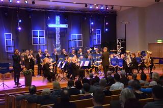 Borås Brassband med sångsolist